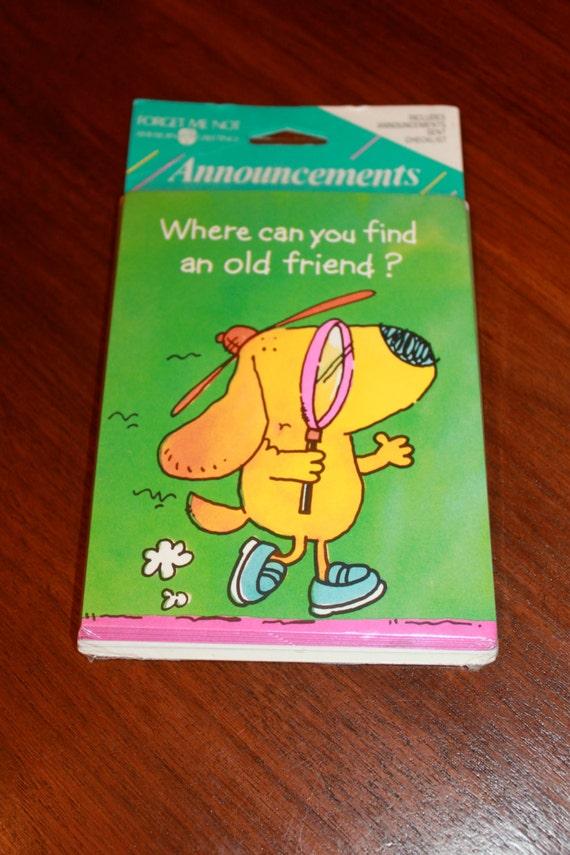 Vintage american greetings cards envelopes moving new address etsy m4hsunfo