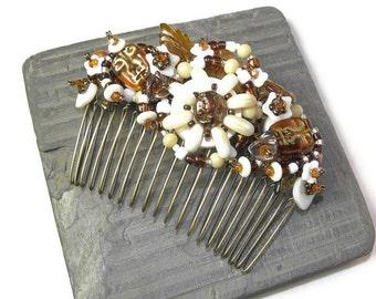 Iorana Hair Comb, Pearls of Polynesia WJ121