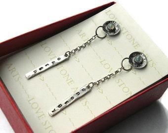 Ethiopian Opal Post Earrings, 4mm, Sterling Silver, Stylish, Minimal, Personalized E136