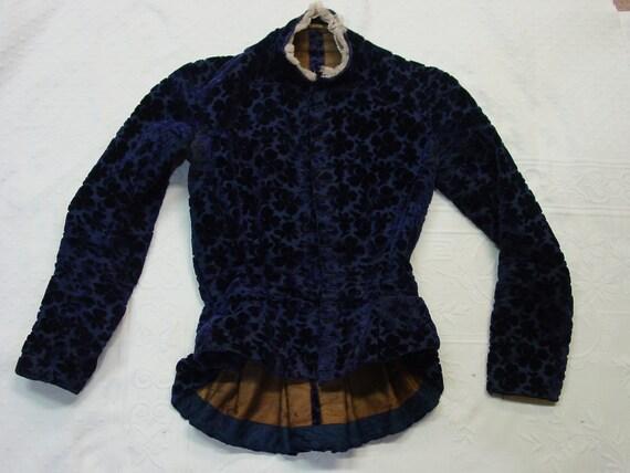 Original Antique Edwardian Waist Coat Jacket Burno