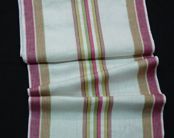 Beautiful Vintage Unused Linen Toweling Great Colors, 10 Yards Available