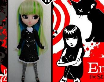 42c943c276 Emily strange doll dress for pullip