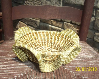 Sweetgrass Stand Basket
