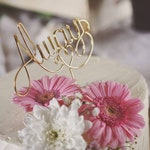 Always Rustic Cake Topper - Wire Cake Topper - Wedding Cake Topper - Rustic Chic - Gold Cake Topper - Harry Potter Cake Topper