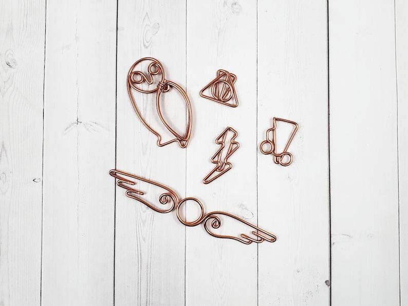 Wire Harry Potter Planner Clip Set  Planner Marker  Page image 0