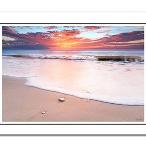 Seaside Coastal Prints Art Norfolk Beach Cromer Print Hunstanton Sunset Bundle 6 x Greeting Card A5 Seascape Ocean Print Birthday Card