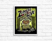 Zombie Love 8x10 Art Prin...
