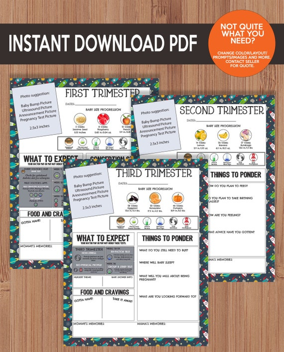 image relating to Printable Pregnancy Journal referred to as Printable Being pregnant Magazine - Place and Planets - LGBT, Exact