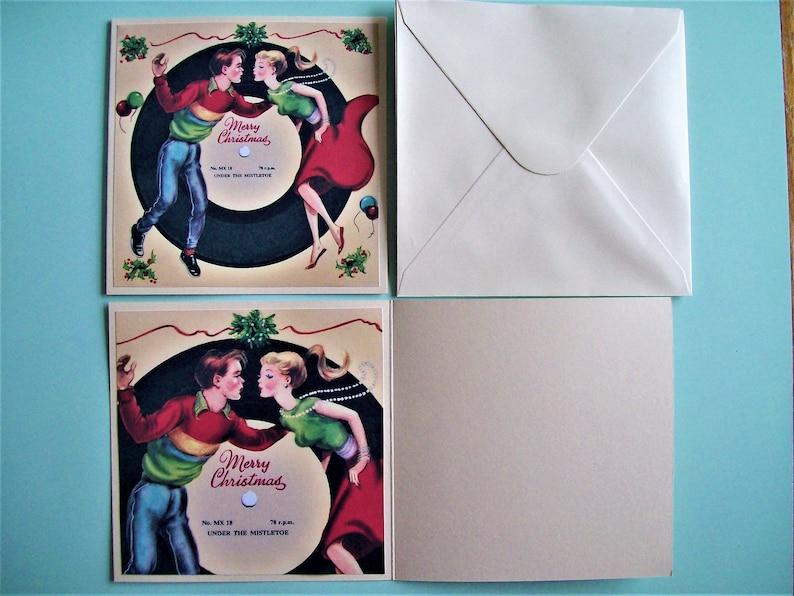 PRE XMAS SALE!! 3 x Vintage 1950s Christmas Cards