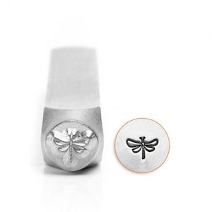 Metal Stamp - Dragonfly - 6mm - Metal Stamping - ImpressArt