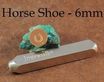 Metal Stamp - Horse Shoe Metal Stamp - 6mm - ImpressArt