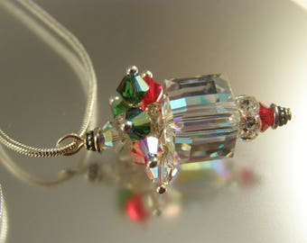 Christmas Lantern Necklace