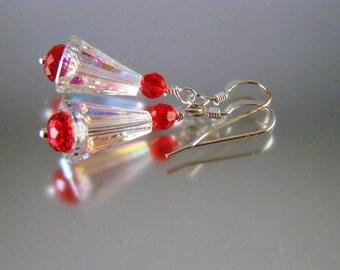 Swarovski Peppermint Earrings