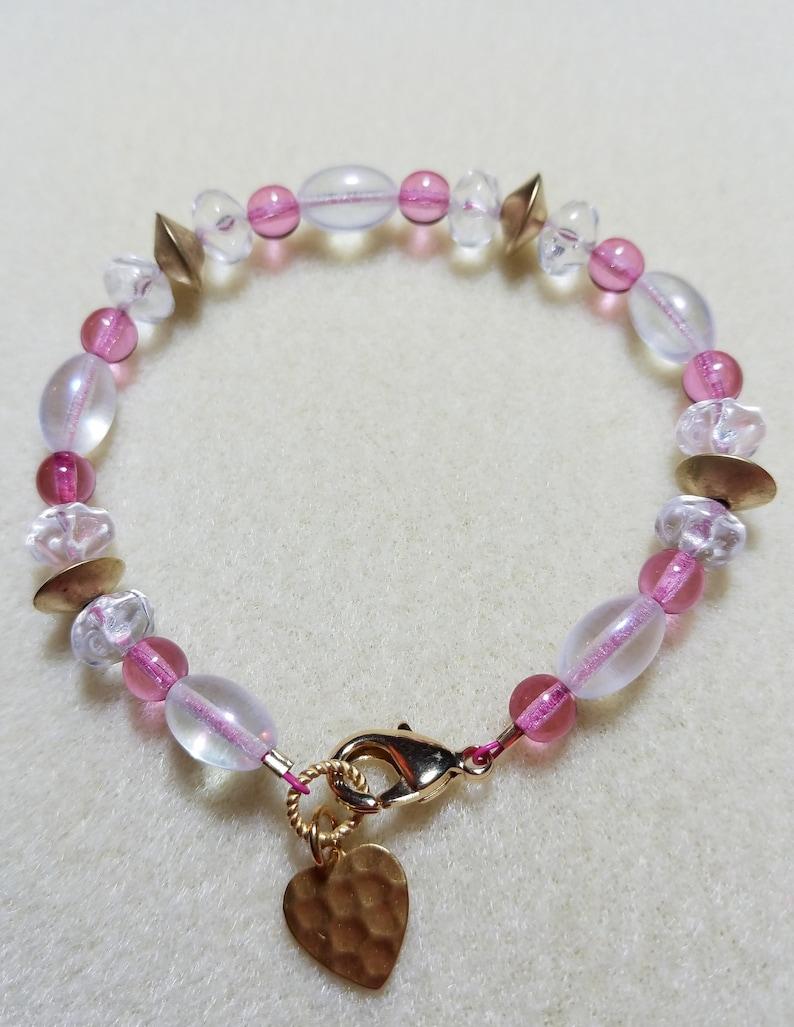 Glass Beaded Bracelet image 0