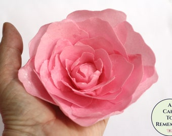 Wafer Paper Flower Etsy