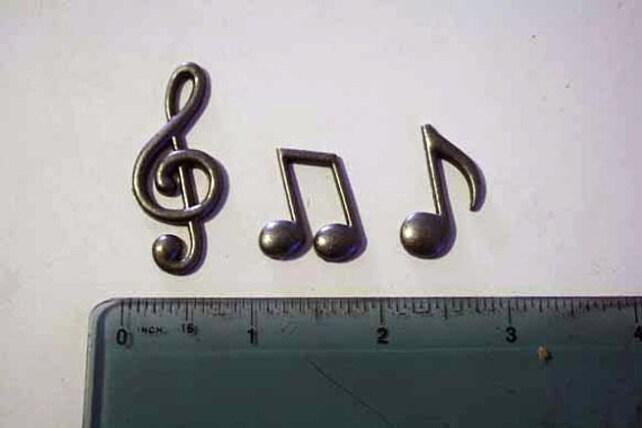 Musiknoten Formen für Kuchen dekorieren Violinschlüssel | Etsy