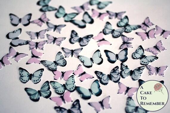 Nouveauté Australie Papillon 12 comestible stand up plaquette papier gâteau Toppers anniversaire