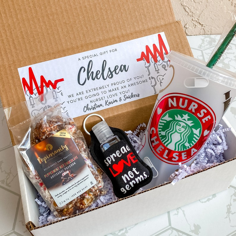 Nurse Appreciation Gift Personalized Medical Gift Gift for Essential Worker Healthcare Professional Gift Box Doctor Gift Box