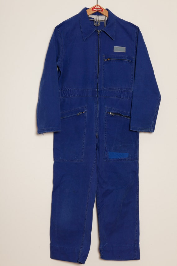 Coverall French Work indigo (M)