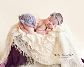 Baby Girl Crochet Pattern - Newborn Photo Prop Crochet Pattern - Skirt Crochet Pattern - Baby Cable Crochet - Baby Photo Prop Pattern