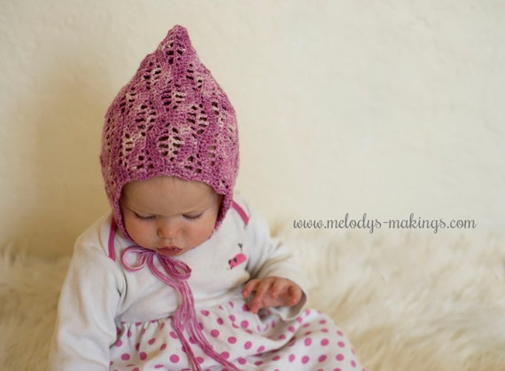 Lace Baby Hat Crochet Pattern Summer Baby Hat Crochet Etsy