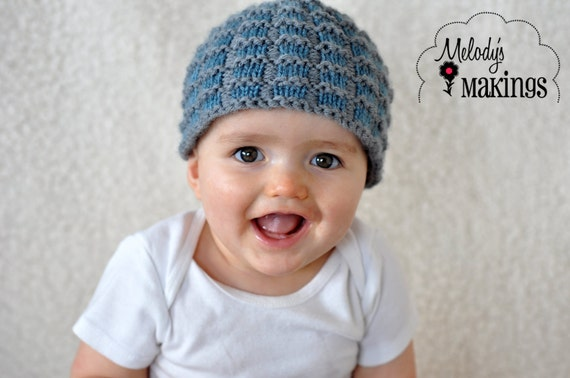 Knit Hat Pattern Baby Hat Knitting Pattern Beanie Knit  39a7f4ee02a