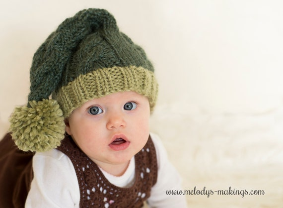 Stocking Cap Knitting Pattern Stocking Hat Pattern Baby Etsy