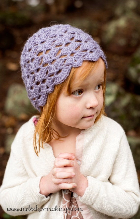 Crochet Hat Pattern For Kids Crochet Hat Pattern For Girls Etsy