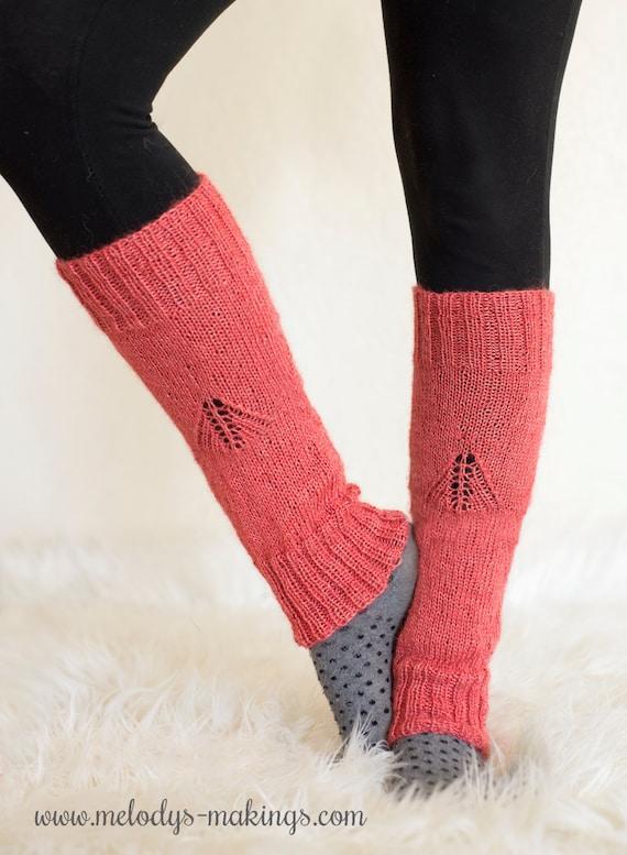 Womans Leg Warmers Pattern Knit Leg Warmers Pattern Etsy