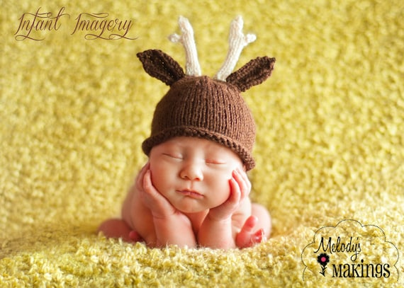 Antler Hat Knitting Pattern Deer Hat Pattern Antlers Hat  2413e830c65