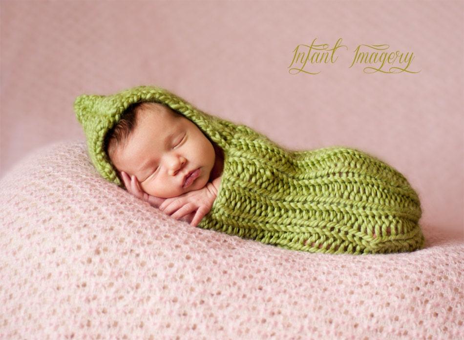 Knitting Pattern Baby Cocoon Pattern Newborn Photo Prop Etsy