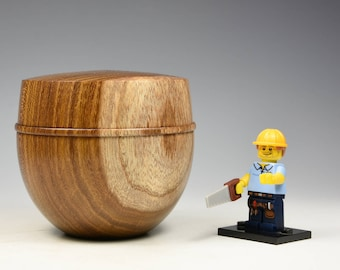 Laburnum wooden box, fathers day gift, wood turning, fromthetree