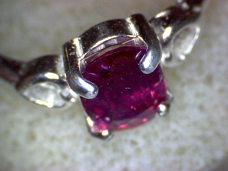 Beautiful Pink Sapphire Heart Ring