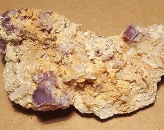 Beautiful Fluorite Crystals specimen