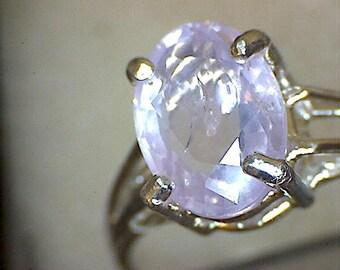 Beautiful Purple Sapphire Ring
