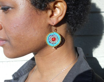 Summer Beaded Earrings
