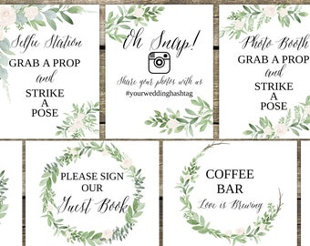 image regarding Wedding Signs Printable titled Wedding day signs or symptoms printable Etsy