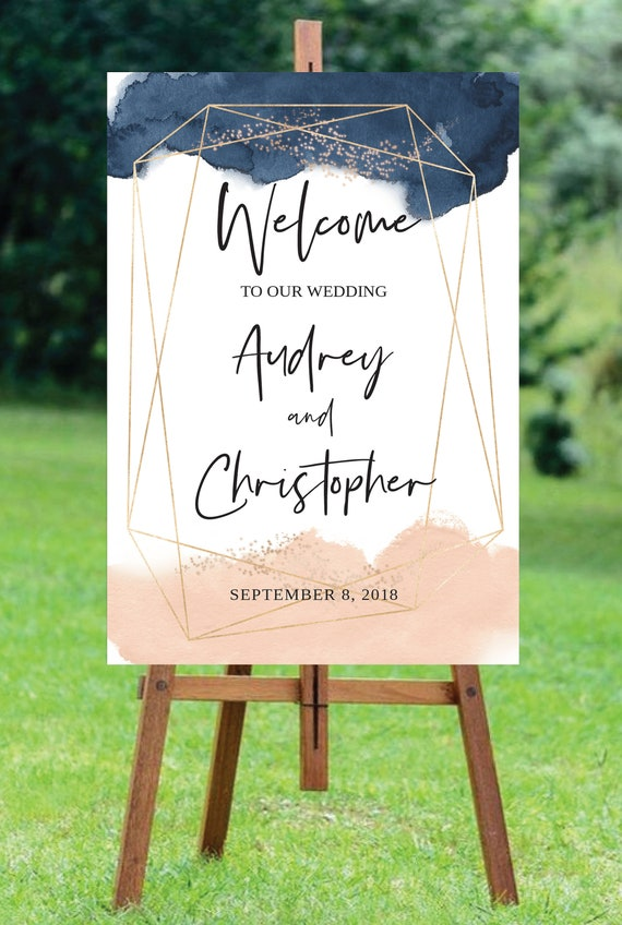 wedding welcome sign template wedding welcome sign printable