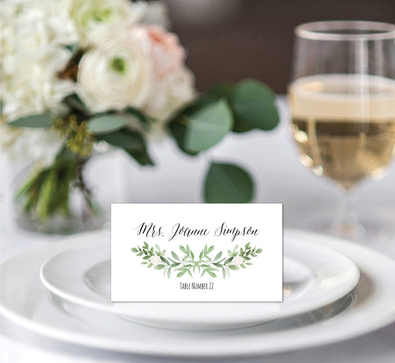 photograph regarding Avery Printable Place Cards identified as Vacation spot Playing cards Template, Avery Point Playing cards Printable, Marriage ceremony Issue Card Template, Greenery Tented Spot Playing cards, Status Playing cards, Foodstuff Label