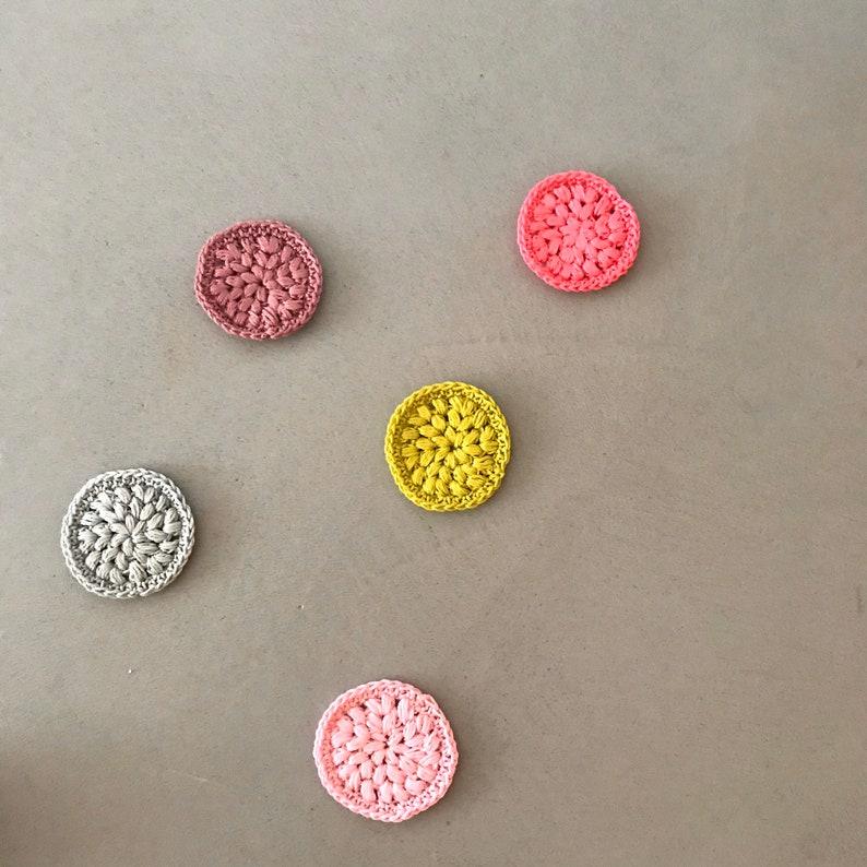 5 Abschminkpads in verschiedenen Farben image 0