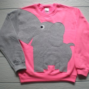 Sweater long sleeve shirt from small blue elephant