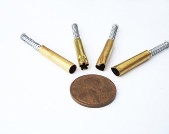 Brand new 4 piece three sixteenth inch mini pattern cutters APC5S