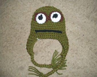 ac0d26e4371 Newborn to Adult Oscar the Grouch Hat
