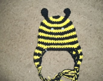 Newborn to Adult Bumble Bee Hat