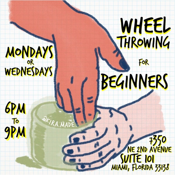 1-Day Beginners Wheelthrowing Class