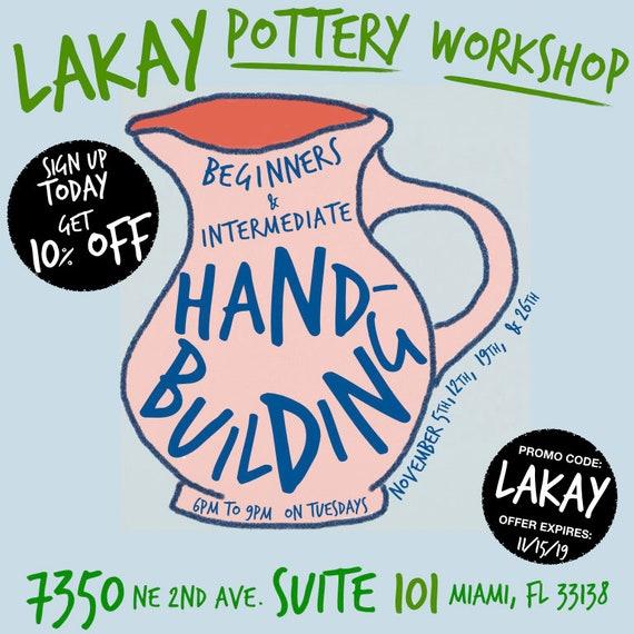 4-Week Beginners Handbuilding Workshop