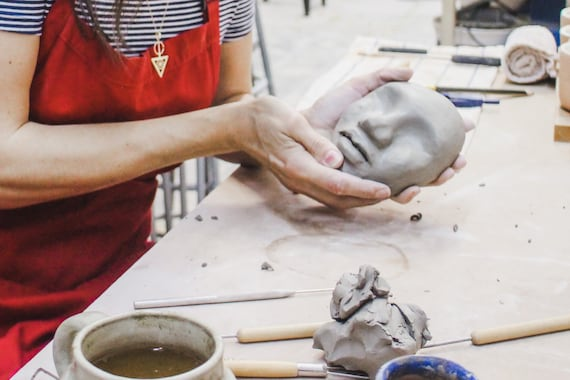 FACE PLANTERS: Ceramic Sculpture Class with Cassandra Youngs | FRIDAYS