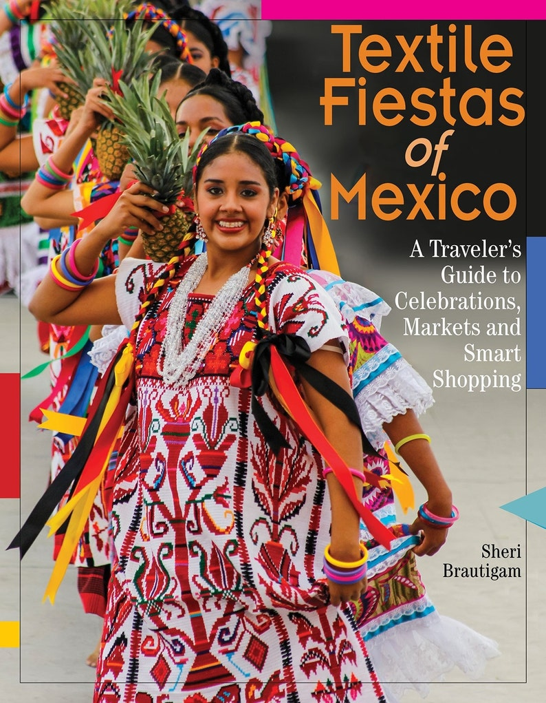 My award winning Guide book for Mexican Textiles   Textile image 0