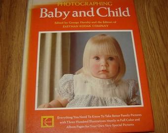 Old Vintage Book Album PHOTOGRAPHING Baby & CHILD 1977 KODAK 300 Photos