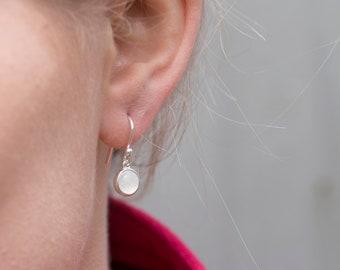 1d28dedacdab2f Silver Moonstone Hook Earrings